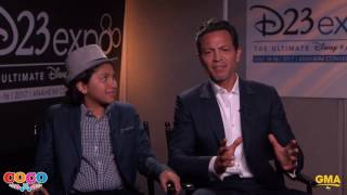 Pixar Coco Star Anthony Gonzalez Shows Off Incredible Singing