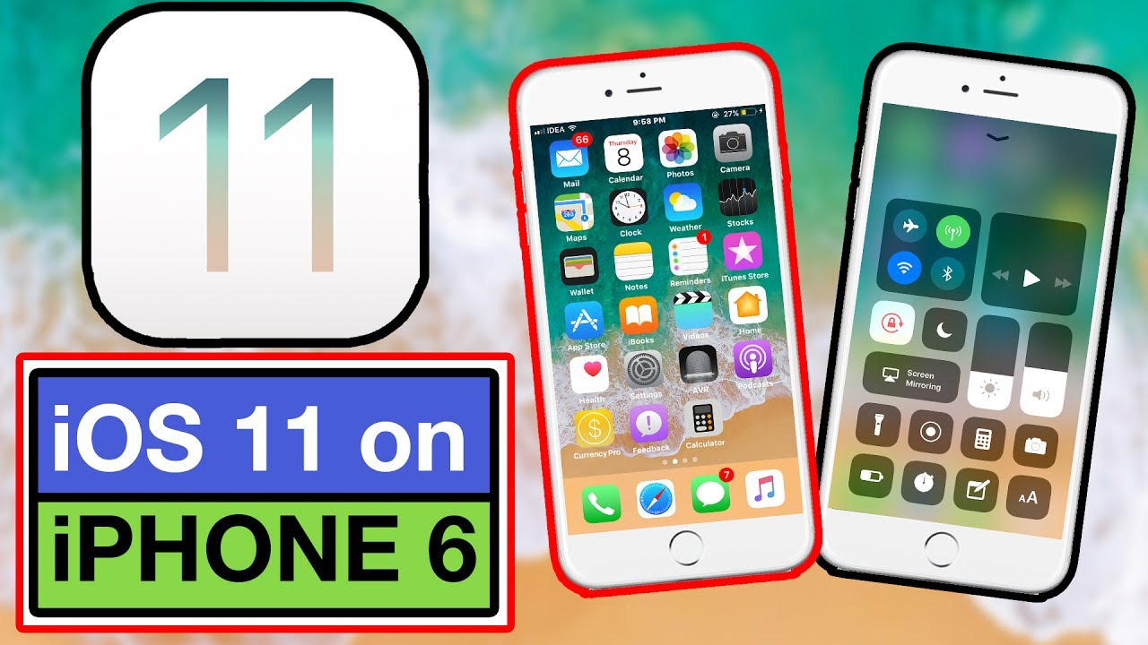how to get ios 8 on iphone 4 ios 11 beta running on iphone 6 review is it or not 20857