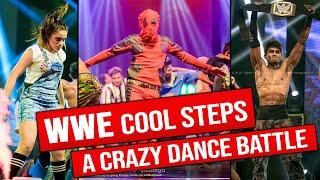 WWE COOL STEPS || DANCE BATTLE [MUST WATCH]