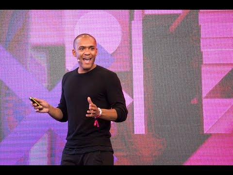 "Alain Sylvain's presentation at The Next Web​'s conference in 2017: ""What matters more, the innovation or the context?"""