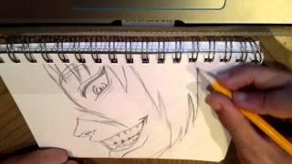 Drawing Alucard