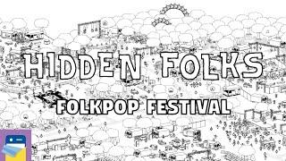 Hidden Folks: On Tour - Folkpop Festival Walkthrough Guide & Gameplay (by Adriaan de Jongh) screenshot 3