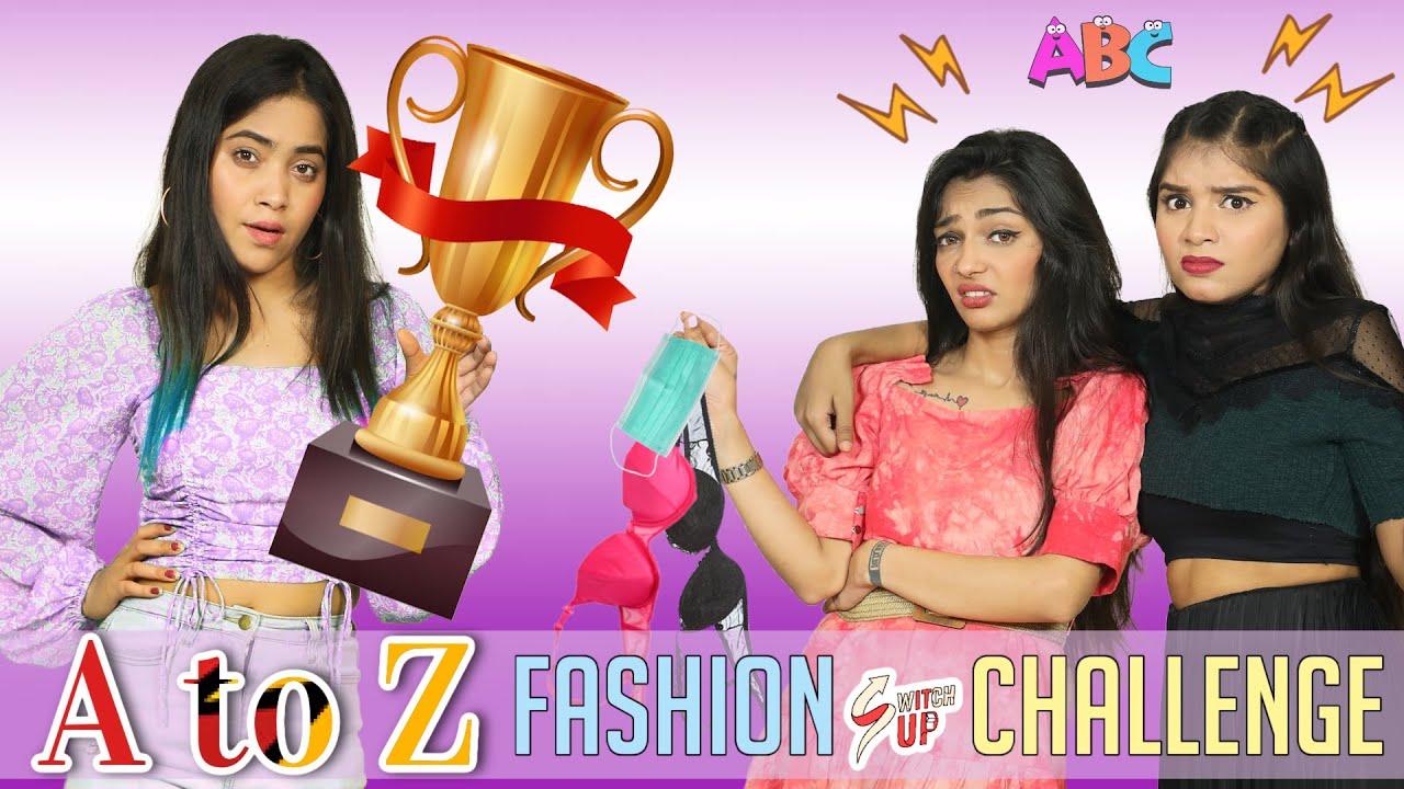 A to Z Fashion Switch Up Challenge | Anaysa