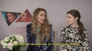 Blake Lively & Anna Kendrick on Their Collaboration in A Simple Favor - L'OFFICIEL
