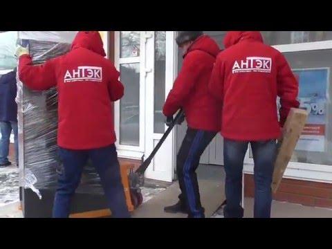 АНТЭК - перевозка банкомата  для банка «Промсвязьбанк» (Тюмень, декабрь 2015 года)