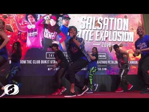 Prince Royce - Tumbao ft. Gente de Zona, Arturo Sandoval - Salsation® Choreography by Yoyo Sanchez