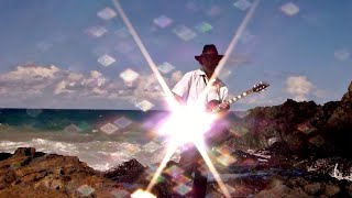 Gerry Joe Weise, Surfing Coffs Harbour, slide guitar