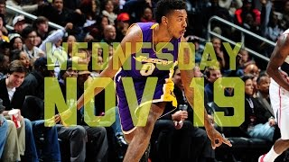 NBA Daily Show: Nov. 19th – The Starters