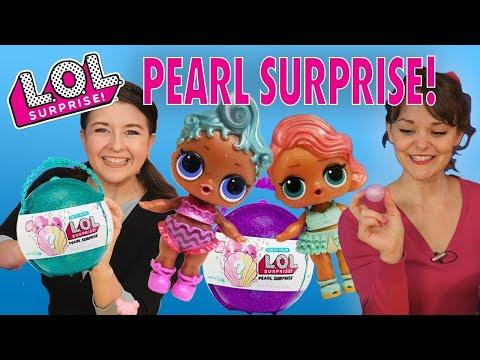 LOL Surprise Dolls Pearl Surprise Unboxing! Featuring Precious, Treasure, Coconut QT, and Diva!