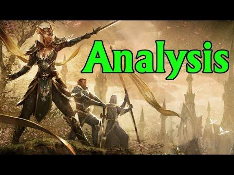 pathfinder elf race analysis youtube