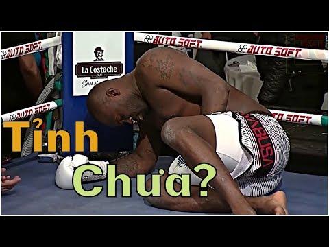 Pha GIẢ VỜ đau quá lố của võ sĩ kickboxing khi thượng đài