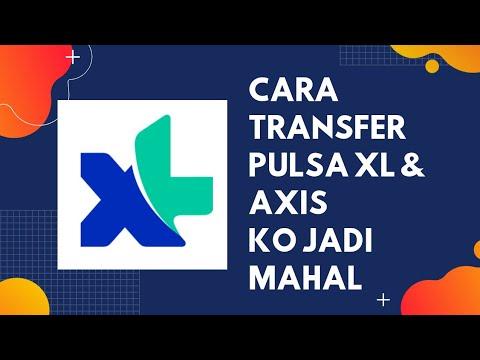 Cara Transfer Pulsa Xl Lewat Aplikasi Myxl Terbaru 2020 Youtube