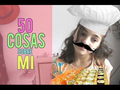 50 COSAS SOBRE MI!