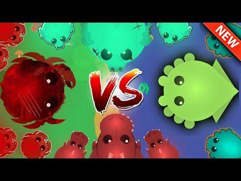 Mope.io - CRAB VS TREX VS DRAGON VS KRAKEN!! (Mope.io Funny Moments)