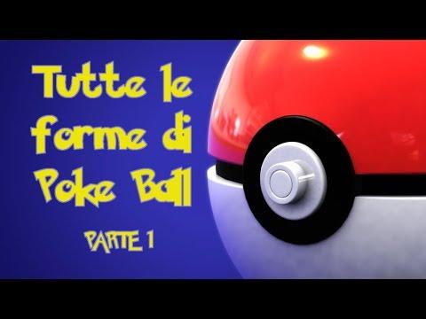 TUTTE LE FORME DI Poke Ball parte 1