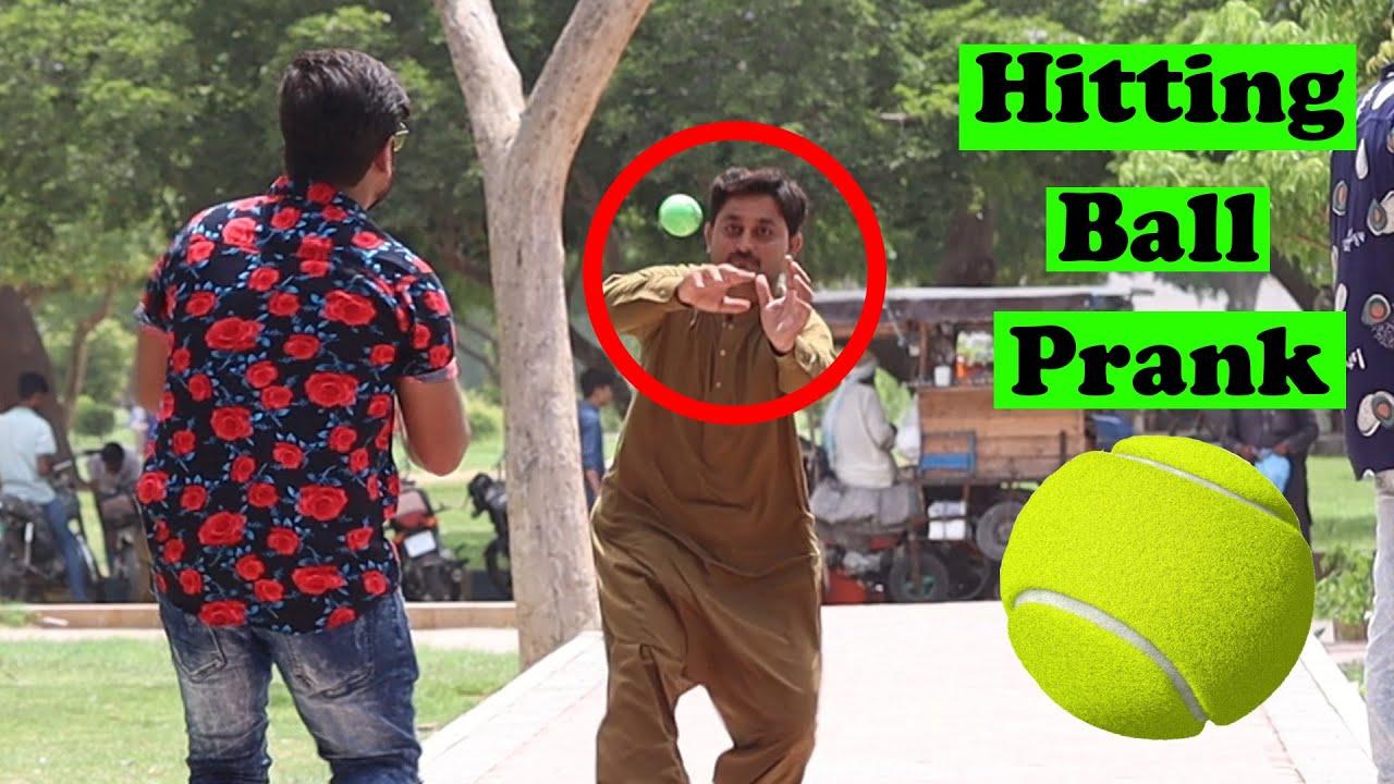 Hitting Ball Prank | Pranks In Pakistan | Humanitarians