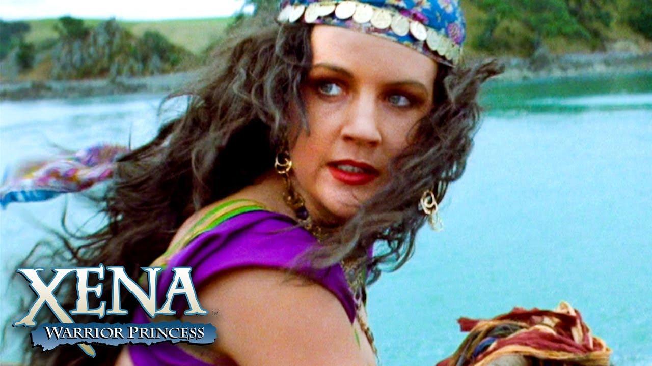 Download Xena and Gabrielle Against Poseidon | Xena: Warrior Princess