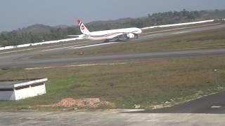 boeing 777 take off at oia sylhet