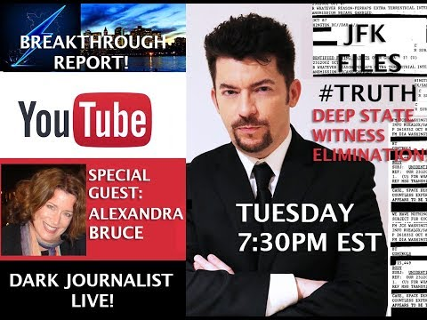 DEEP STATE WITNESSES ERASED! JFK2017 FILES DARK JOURNALIST