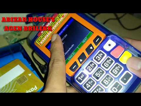 Cara topup E-Money melalui EDC BRILink (Link aja, Dana, Ovo dan Shopeepay)