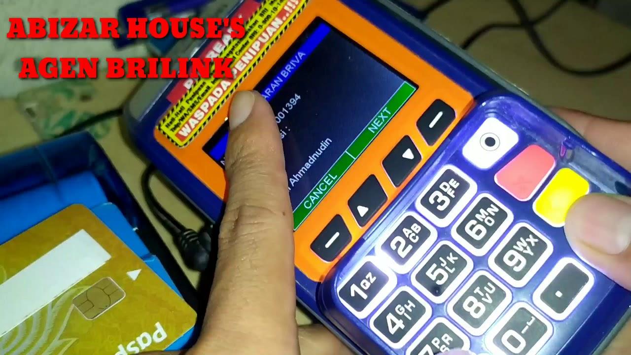 Cara topup E-Money melalui EDC BRILink (Link aja, Dana ...
