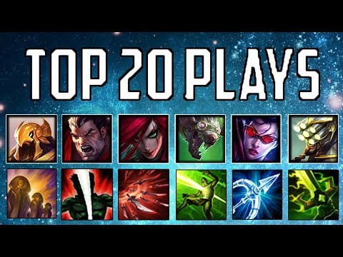 Top 20 Plays #11 | League Of Legends Mid