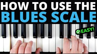 How to REALLY Use the Blues Scale [EASY VERSION]