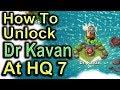 How To Unlock Dr Kavan At Hq7 (Hero Troop) | Boom Beach