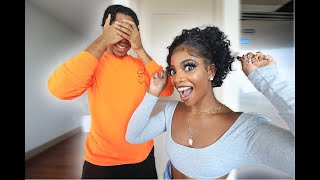 DE'ARRA DID THE BIG CHOP...