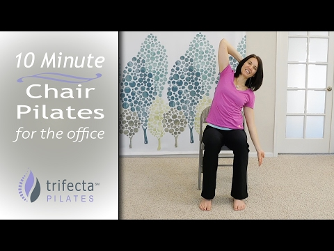 10 Minute Chair Pilates for the Office