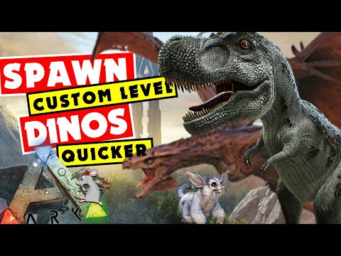 ARK: Spawn Any Level Tamed Dino Quickly - All Summon Comands - GM Givetome Summon