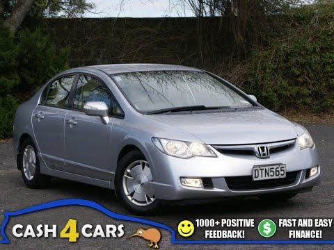 2007 Honda Civic Hybrid! NZ New! Easy Finance!! ** $Cash4Cars$Cash4Cars$ **