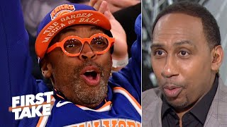 Stephen A. has a plan to distract Knicks fans from James Dolan | First Take