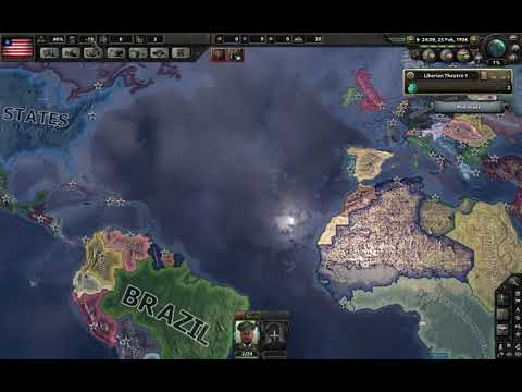kaisserreich Liberia Africa/world conquest #1