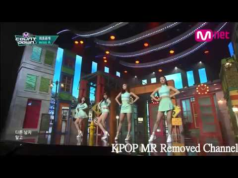 [MR Removed] 150402 miss A - 다른 남자 말고 너 (Only You) (Comaback M COUNTDOWN)
