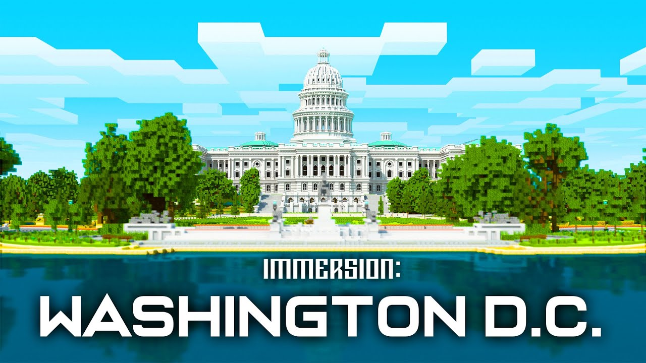 Immersion: Washington DC | Minecraft Marketplace - Official Trailer