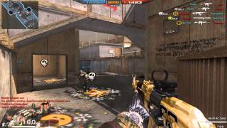 Arctic Combat Gameplay (AK-47 gold)