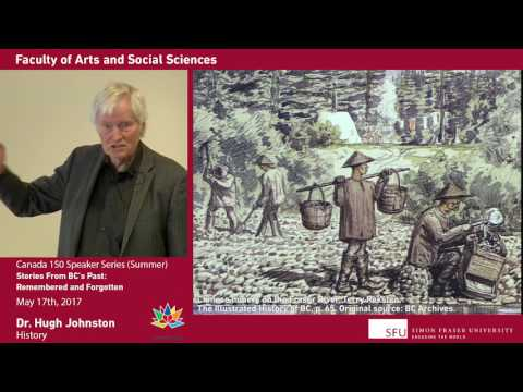 "Professor Emeritus Dr. Hugh Johnston, SFU History, on ""Stories From BC's Past"""