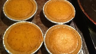 How To: Mini Pumpkin Pie With Graham Cracker Crust