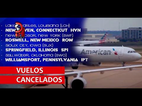 AMERICAN AIRLINES CANCELA VUELOS POR CRISIS ECONÓMICA