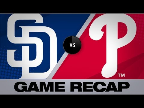 1991 MLB  San Diego Padres vs Philadelphia Phillies - YouTube