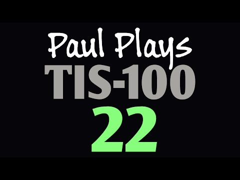 Paul Plays TIS-100 22 (Stored Image Decoder)