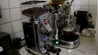 LA PAVONI Professional Lusso mit Milchaufschäumer