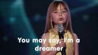 Repeat youtube video Connie Talbot - Imagine (With lyrics)