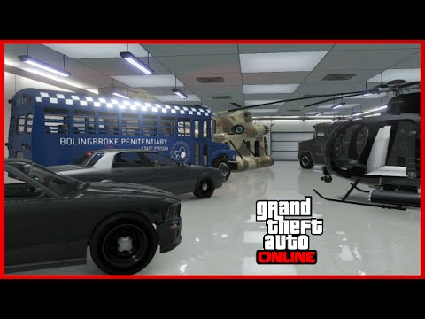 Gta 5 online modded garage showcase blacklisted for Garajes gta v online