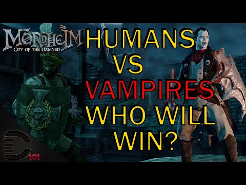 The Undead Swarmed us! Mordheim City of the Damned Human Mercenaries Gameplay |