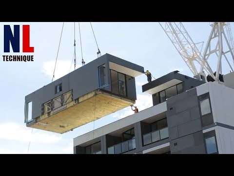 Amazing Modern Technologies: Fast Construction And Installation Your House With Modular Home
