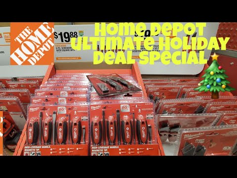 Home Depot.. Ultimate Black Friday Holiday Sale Special ..🎄🌲🎄🌲
