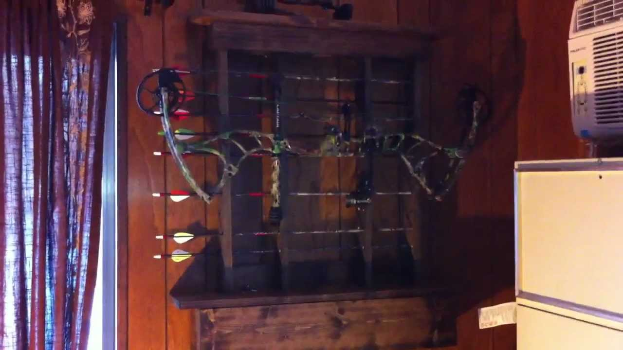 Home made bow rack youtube for How to build a house online program for free