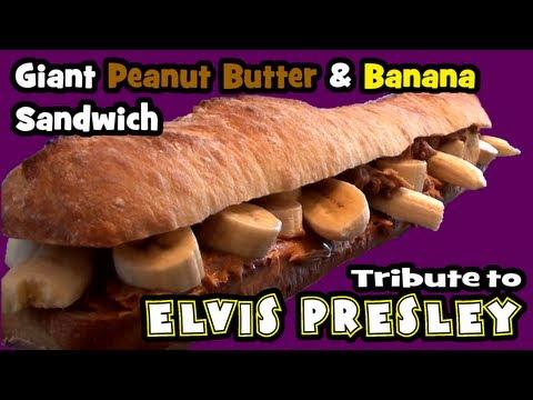 Peanut butter, banana and bacon sandwich - Mashpedia Free Video ...